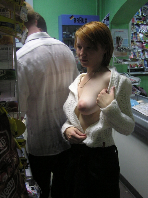 German exhibitionist girl